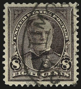 Sale Number 959, Lot Number 2588, 1895 Watermarked Bureau Issue (Scott 264-278)8c Violet Brown (272), 8c Violet Brown (272)
