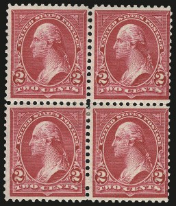 Sale Number 959, Lot Number 2612, 1897-1903 Change of Colors (Scott 279-284)2c Rose Carmine, Ty. IV (279Bc), 2c Rose Carmine, Ty. IV (279Bc)