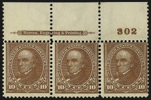 Sale Number 959, Lot Number 2617, 1897-1903 Change of Colors (Scott 279-284)10c Brown, Ty. I (282C), 10c Brown, Ty. I (282C)