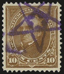 Sale Number 959, Lot Number 2620, 1897-1903 Change of Colors (Scott 279-284)10c Orange Brown, Ty. II (283), 10c Orange Brown, Ty. II (283)