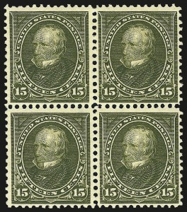 Sale Number 959, Lot Number 2623, 1897-1903 Change of Colors (Scott 279-284)15c Olive Green (284), 15c Olive Green (284)