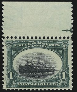 Sale Number 959, Lot Number 2668, 1901 Pan-American Issue (Scott 294-299)1c Pan-American (294), 1c Pan-American (294)