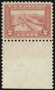 Sale Number 959, Lot Number 2835, 1913-15 Panama-Pacific Issue (Scott 397-404)2c Panama-Pacific, Perf 10 (402), 2c Panama-Pacific, Perf 10 (402)