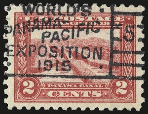 Sale Number 959, Lot Number 2836, 1913-15 Panama-Pacific Issue (Scott 397-404)2c Panama-Pacific, Perf 10 (402), 2c Panama-Pacific, Perf 10 (402)
