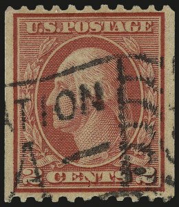 Sale Number 959, Lot Number 2893, 1913-15 Washington-Franklin Issues (Scott 424-461)2c Red, Ty. I, Coil (449), 2c Red, Ty. I, Coil (449)