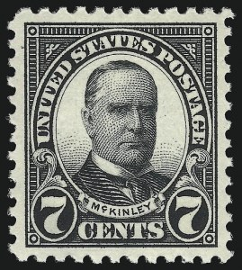 Sale Number 959, Lot Number 3002, 1922-29 Issues (Scott 551-621)7c Black (559), 7c Black (559)