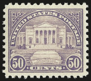 Sale Number 959, Lot Number 3008, 1922-29 Issues (Scott 551-621)50c Lilac (570), 50c Lilac (570)