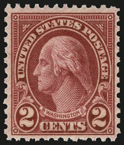 Sale Number 959, Lot Number 3043, 1925 and Later Issues (Scott 628-723)2c Carmine, Ty. II (634A), 2c Carmine, Ty. II (634A)