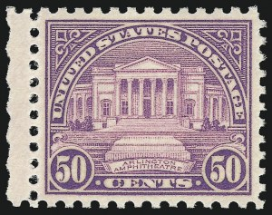 Sale Number 959, Lot Number 3060, 1925 and Later Issues (Scott 628-723)50c Red Lilac (701), 50c Red Lilac (701)