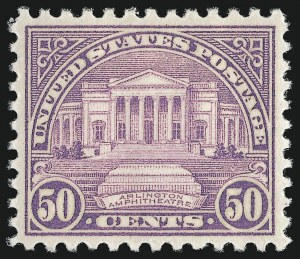Sale Number 959, Lot Number 3061, 1925 and Later Issues (Scott 628-723)50c Lilac (701), 50c Lilac (701)