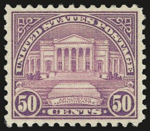 Sale Number 959, Lot Number 3062, 1925 and Later Issues (Scott 628-723)50c Red Lilac (701), 50c Red Lilac (701)