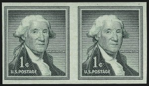 Sale Number 959, Lot Number 3065, Modern Errors1c Washington Coil, Imperforate (1054b), 1c Washington Coil, Imperforate (1054b)