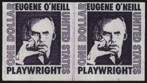 Sale Number 959, Lot Number 3075, Modern Errors$1.00 Eugene O'Neill Coil, Imperforate (1305Cd), $1.00 Eugene O'Neill Coil, Imperforate (1305Cd)