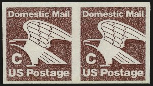 Sale Number 959, Lot Number 3092, Modern Errors(20c) C Stamp Coil, Imperforate (1947a), (20c) C Stamp Coil, Imperforate (1947a)