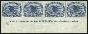 Sale Number 959, Lot Number 3259, Carriers and Locals1c Blue, Eagle Carrier (LO2), 1c Blue, Eagle Carrier (LO2)