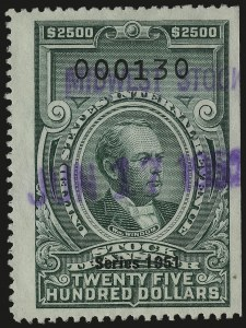 Sale Number 959, Lot Number 3279, Revenues (Proprietary thru Consular Service)$2,500.00 Bright Green, Series 1951 (RD362), $2,500.00 Bright Green, Series 1951 (RD362)