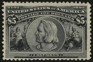 Sale Number 959, Lot Number 3465, Group Lots by Issue50c-$5.00 Columbian (240-245), 50c-$5.00 Columbian (240-245)