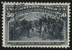 Sale Number 961, Lot Number 111, Columbian Issue50c Columbian (240), 50c Columbian (240)