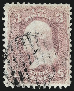 Sale Number 961, Lot Number 39, 1861-66 Issue3c Pigeon Blood Pink (64a), 3c Pigeon Blood Pink (64a)