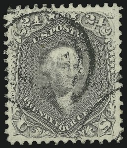 Sale Number 961, Lot Number 47, 1861-66 Issue24c Grayish Lilac (78a), 24c Grayish Lilac (78a)