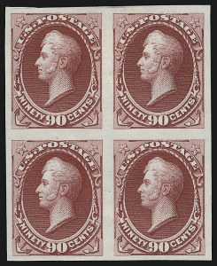 Sale Number 962, Lot Number 2109, Essays, Proofs and Specimens (1870-93 Bank Note Issues)1c-90c 1870 Bank Note Issues, Plate Proofs on India (145P3-150P3, 152p3-155P3), 1c-90c 1870 Bank Note Issues, Plate Proofs on India (145P3-150P3, 152p3-155P3)