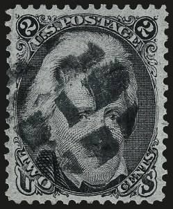 Sale Number 962, Lot Number 2356, 1867-68 Grilled Issues (Scott 79-101)2c Black, F. Grill (93), 2c Black, F. Grill (93)