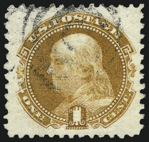 Sale Number 962, Lot Number 2378, 1869 Pictorial Issue (Scott 112-122)1c Buff (112), 1c Buff (112)
