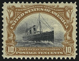 Sale Number 962, Lot Number 2607, Pan-American Issue (Scott 294-299)10c Pan-American (299), 10c Pan-American (299)