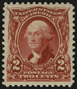 Sale Number 962, Lot Number 2609, 1902-08  thru Jamestown Issues (Scott 300-330)2c Carmine (301), 2c Carmine (301)