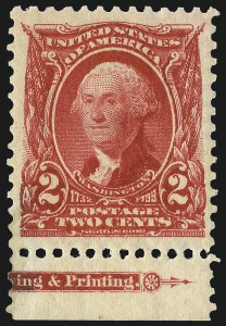 Sale Number 962, Lot Number 2611, 1902-08  thru Jamestown Issues (Scott 300-330)2c Carmine (301), 2c Carmine (301)