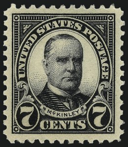 Sale Number 962, Lot Number 2847, 1922-26 and Later Issues (Scott 551-599A)7c Black (559), 7c Black (559)