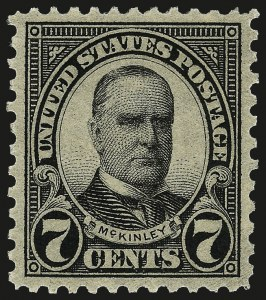 Sale Number 962, Lot Number 2890, 1922-26 and Later Issues (Scott 619-1617c)7c Black (639), 7c Black (639)