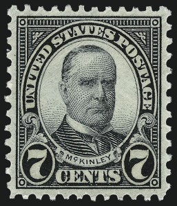 Sale Number 962, Lot Number 2891, 1922-26 and Later Issues (Scott 619-1617c)7c Black (639), 7c Black (639)