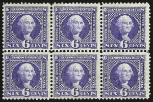 Sale Number 963, Lot Number 656, 1869 Pictorial Issue (Scott 112-122)6c Ultramarine (115), 6c Ultramarine (115)