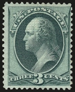 Sale Number 963, Lot Number 730, 1870 National Bank Note Co. Grilled Issue (Scott 134-144)3c Green, Grill (136), 3c Green, Grill (136)