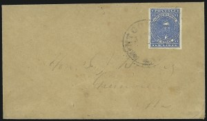 Sale Number 964, Lot Number 343, Confederate States General Issues10c Dark Blue, Paterson (2b), 10c Dark Blue, Paterson (2b)