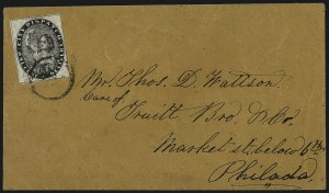 Sale Number 965, Lot Number 1160, Local and Private Posts (Griegs thru Cressman)City Dispatch, Philadelphia Pa., 1c Black (41L1), City Dispatch, Philadelphia Pa., 1c Black (41L1)