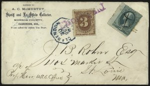Sale Number 966, Lot Number 2326, Back-of-Book Issues3c Brown, Postage Due (J3), 3c Brown, Postage Due (J3)