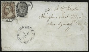 Sale Number 966, Lot Number 2346, Carriers and LocalsCity Despatch, Philadelphia Pa., 1c Black (41L1), City Despatch, Philadelphia Pa., 1c Black (41L1)
