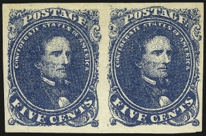 Sale Number 966, Lot Number 2627, General Issues Off Cover5c Blue, Stone 2 (4), 5c Blue, Stone 2 (4)