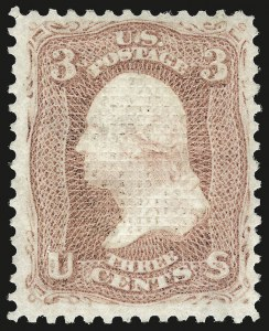 Sale Number 967, Lot Number 4185, 1867-68 Grilled Issue (Scott 79-101), including the 10c Z Grill3c Rose, C. Grill (83), 3c Rose, C. Grill (83)