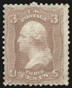 Sale Number 967, Lot Number 4188, 1867-68 Grilled Issue (Scott 79-101), including the 10c Z Grill3c Rose, Z. Grill (85C), 3c Rose, Z. Grill (85C)