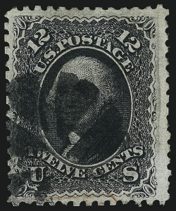 Sale Number 967, Lot Number 4191, 1867-68 Grilled Issue (Scott 79-101), including the 10c Z Grill12c Black, Z. Grill (85E), 12c Black, Z. Grill (85E)