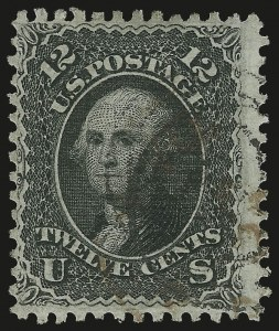 Sale Number 967, Lot Number 4192, 1867-68 Grilled Issue (Scott 79-101), including the 10c Z Grill12c Black, Z. Grill (85E), 12c Black, Z. Grill (85E)