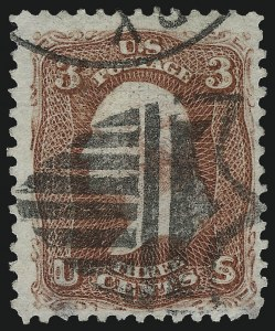 Sale Number 967, Lot Number 4197, 1867-68 Grilled Issue (Scott 79-101), including the 10c Z Grill3c Rose, E. Grill (88), 3c Rose, E. Grill (88)