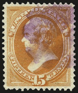 Sale Number 967, Lot Number 4291, 1873 Continental Bank Note Co. Issue (Scott 156-166),