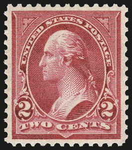 Sale Number 967, Lot Number 4456, 1897-1903 Change of Colors (Scott 279-284)2c Rose Carmine, Ty. IV (279Bc), 2c Rose Carmine, Ty. IV (279Bc)