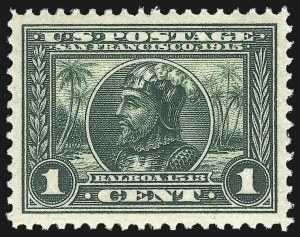 Sale Number 967, Lot Number 4725, 1913-15 Panama-Pacific Issue (Scott 397-404)1c Panama-Pacific (397), 1c Panama-Pacific (397)