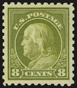 Sale Number 967, Lot Number 4822, 1916-17 Issues (Scott 462-480)8c Olive Green (470), 8c Olive Green (470)
