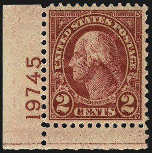 Sale Number 967, Lot Number 4982, 1922-29 Issues (Scott 574-648)2c Carmine, Ty. II (634A), 2c Carmine, Ty. II (634A)